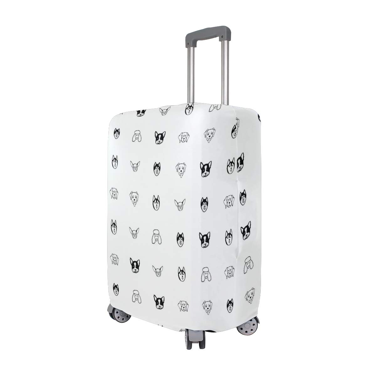 Dog Grooming Bones Traveler Lightweight Rotating Luggage Protector Case Can Carry With You Can Expand Travel Bag Trolley Rolling Luggage Protector Case
