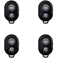 SHEYINJ 4 Pack Bluetooth Camera Remote Control Shutter for Smart Phones, Wireless Camera Remote Control Compatible with…