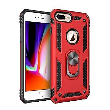 Compatible iPhone 8Plus/iPhone 7Plus Carcasa Rojo/Funda ...
