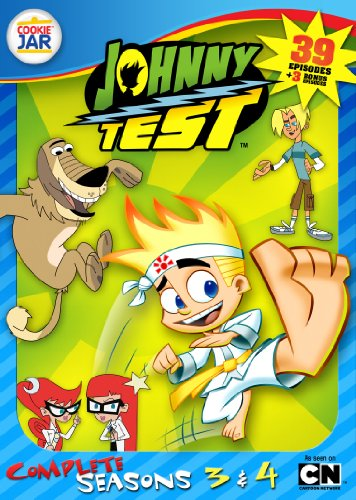 Johnny Test: The Complete Seasons 3 & 4 (Sound Test Dvd Surround)