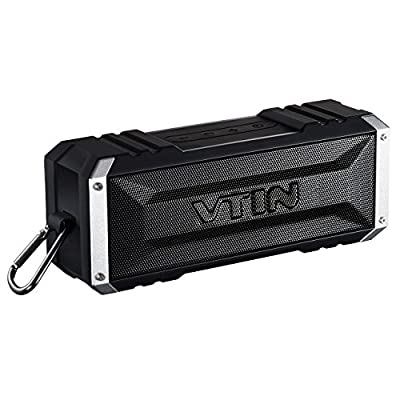 Vtin 20 Watt Waterproof Bluetooth Speaker, 25 Hours Playtime Portable Outdoor Bluetooth Speaker, Wireless Speaker for iPhone, Pool, Beach, Golf, Home by Vtin