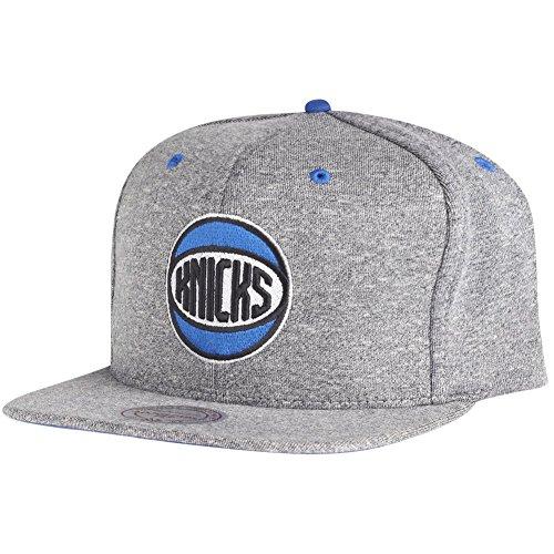 Mitchell & Ness Snapback Cap - JERSEY New York Knicks gris