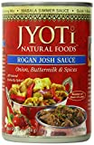 Jyoti Natural Foods Indian Cuisine, Rogan Josh Sauce, 10-Ounce Cans (Pack of 12)