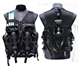 Trinity Paintball Chest Protector Guard Body Armor Vest Black, Fast Shipping