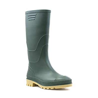 Zone - Classic Green Welly - Kids Size 11 To Adult Size 6 PA_2101