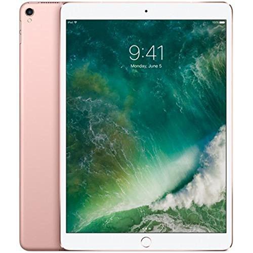 Apple iPad Pro 10.5in 64GB WiFi Rose Gold (2017) (Renewed)