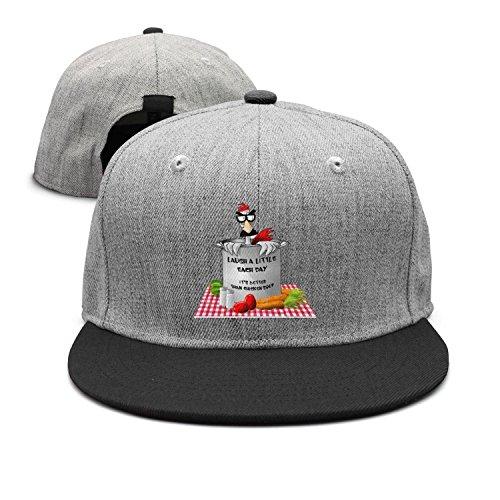 (FKLKFKL Chicken Soup Tastes Funny Rooster Decor Men Women Plain Cotton Adjustable Washed Low Profile Baseball Cap Hat)