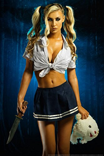 Killer School Girl by Daveed Benito Poster 24x36 inch