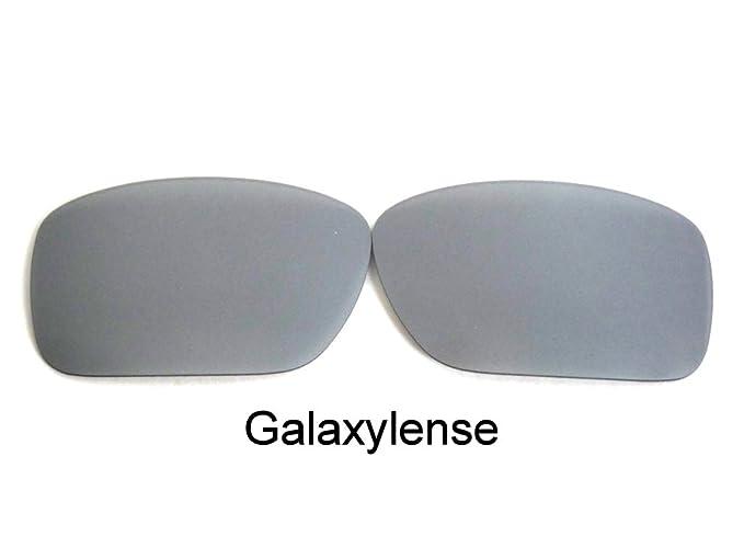 124e36655e Galaxy Replacement Lenses For Oakley Turbine Titanium Polarized 100% UVAB