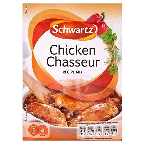 Schwartz Chicken Chasseur Recipe Mix (40g)