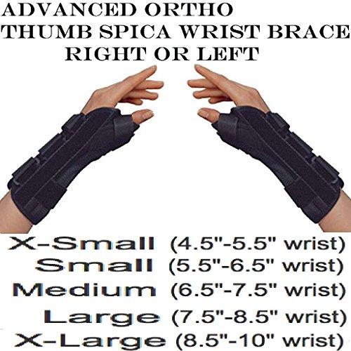 Advanced Orthopaedics 171 - R Thumb Spica Wrist Brace - Extr