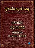 Shakespeare Collection Gift Box Set : Othello (Orson Welles) ~ A Midsummer Night's Dream (James Cagney) ~ Hamlet (Laurence Olivier) ~ Romeo and Juliet (Norma Shearer) [Import] (All-region)