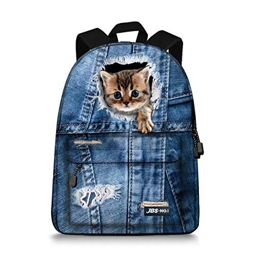 Teens Kitten - JBS-NO.1 Cute Cats Backpack for Teen
