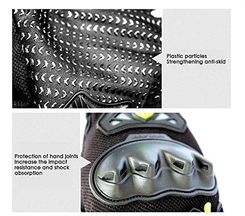 Wonzone Men's BMX MX ATV Powersports Racing Gloves Bicycle MTB Racing Off-road/Dirt bike Sports Gloves (Red, Medium) by Wonzone (Image #3)