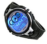 Digital Boys Sports Watch Date Alarm Stopwatch with 6 Color Backlights