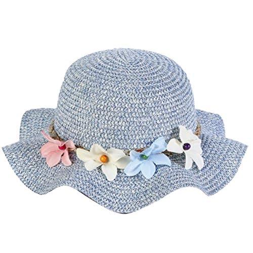55628b2cf7c9 DaoRier Niños Chica sombrero para niña forma de onda süßer guirnalda erfris  chend Sombreros ...