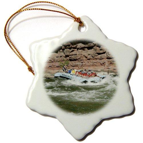 Porcelain 3dRose orn/_87865/_1 Rafting The Colorado River Grand Canyon Arizona-Us03 Dpb0086-Douglas Peebles-Snowflake Ornament 3-Inch