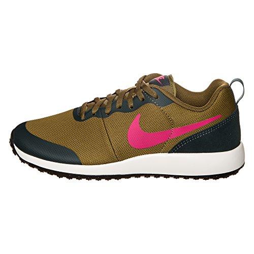 Nike 801781-360, Zapatillas de Deporte Mujer Verde (Olive Flak / Vivid Pink-Seaweed-Sail)