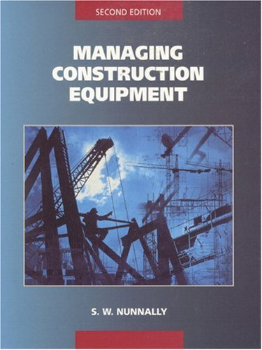 Managing Construction Equipment, 2/e-cover