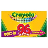 Wholesale CASE of 20 - Crayola 96 Count Regular Crayola Crayons-Regular Crayons, Built-in Sharpener, 96/BX, Assorted