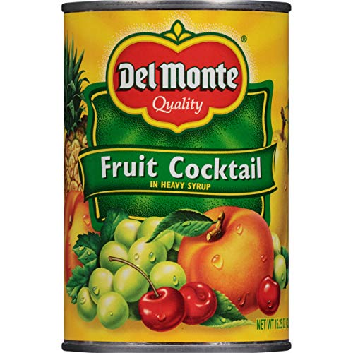 Del Monte Canned Fruit Cocktail in Heavy Syrup, 15.25-Ounce