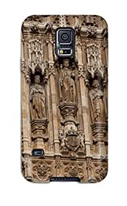 Perfect Fit RdVUrPF5359WSQgL The Reims Cathedral View Case For Galaxy - S5