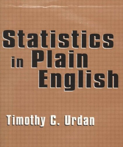 Statistics in Plain English (Volume 1)