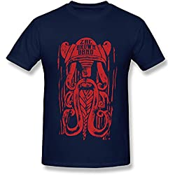 TEE-Men's Zac Brown Band-2016 VIKING TOUR Tshirts.