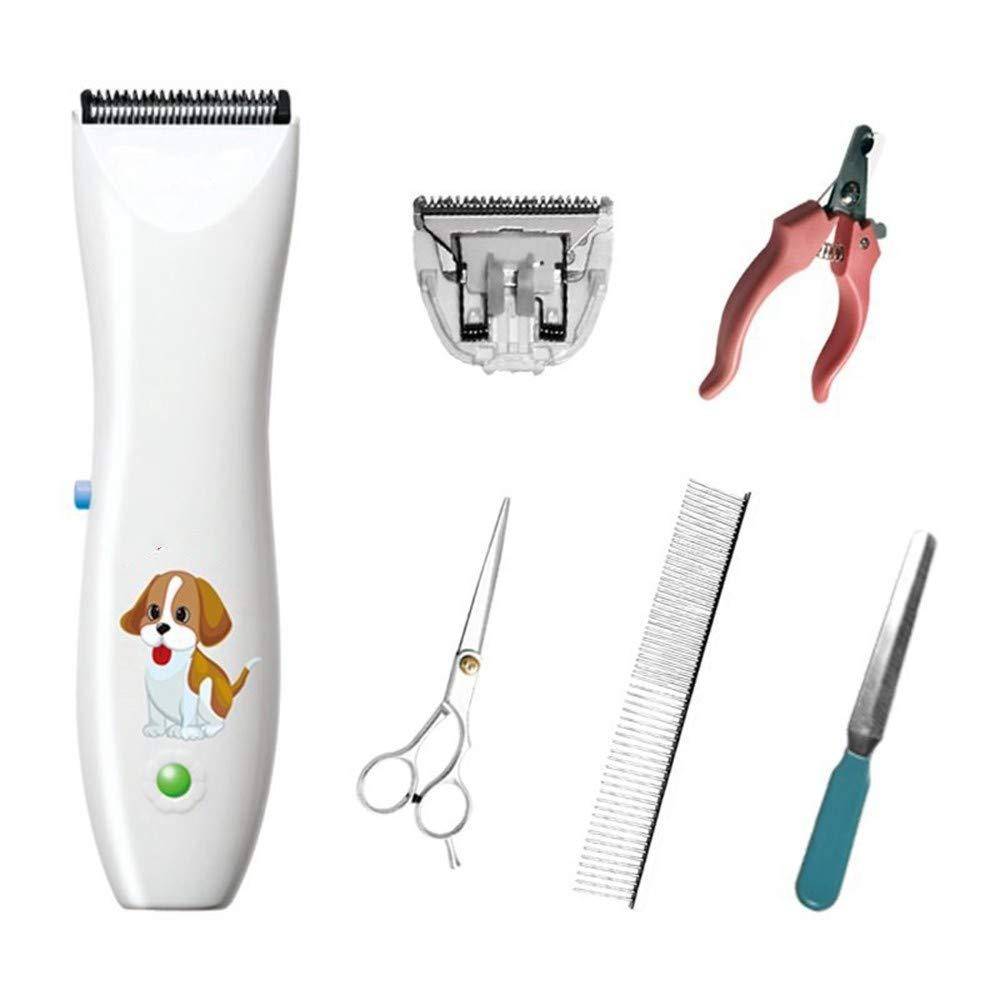 White XUHAHADTJ Hair Shaving Device Dog Shaving Device Pet,Whiteelectric Clipper