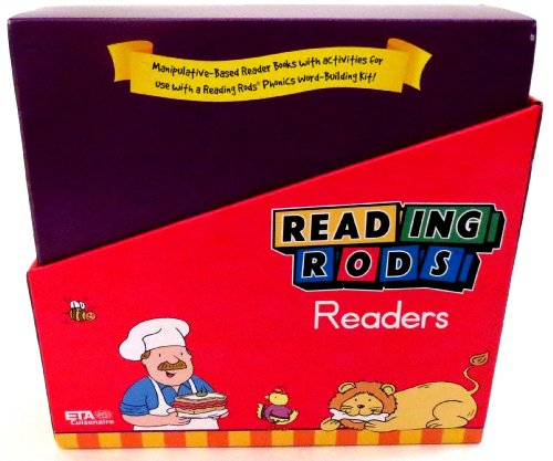 ETA hand2mind Reading Rods Readers: Phonics Foundation 2 (Set of 16) (Reading Rods Readers)