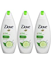 Dove Go Fresh Body Wash - International Version , 3- Count