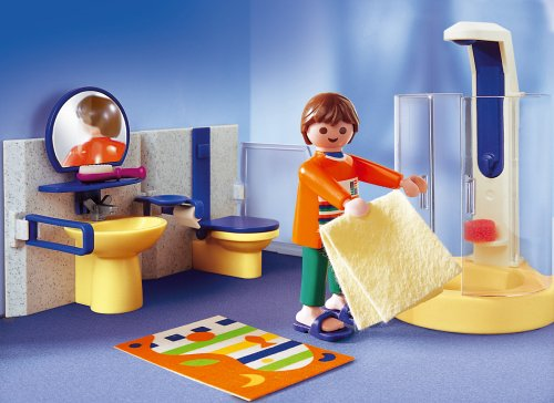 Amazon.de:PLAYMOBIL 3969   Bad Mit Dusche
