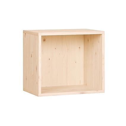 Merveilleux Howdy 1 Tier Open Bookshelf And Bookcase Cube Storage Wood Shelving Unit  Bookcase DIY Closet