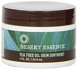 tea tree oil balm - Desert Essence Tea Tree Oil Skin Ointment, 1 Fluid Ounce