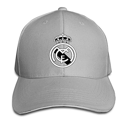 Real Madrid C.F. Logo Football Club Adjustable Sandwich Cap Game Structure Hat
