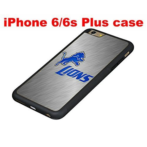 Detroit Lions team iPhone 6/6s Plus Case shell Cover,TPU edge Defender Case for iPhone 6/6s Plus 5.5 Inch