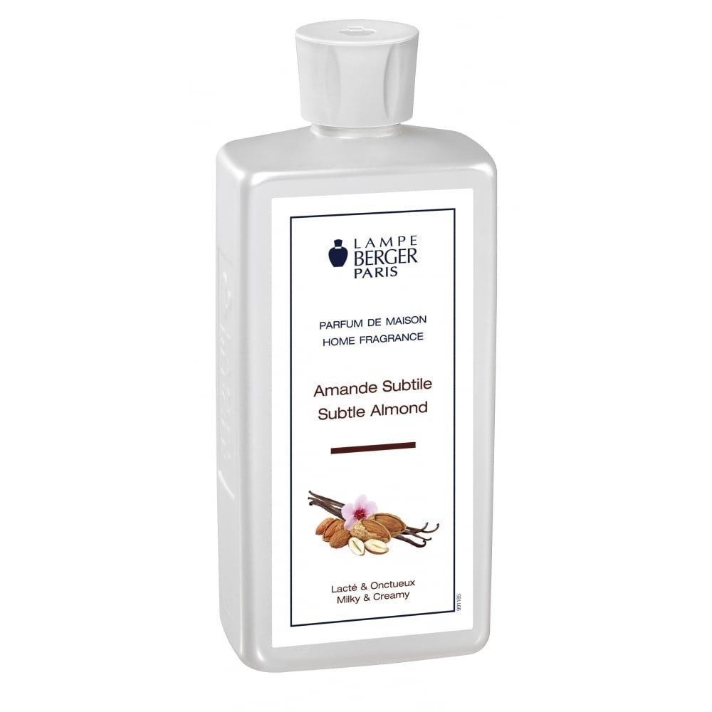 Lampe Berger 415344 500ml-Subtle Almond Fragrance - Subtle Almond , 500ml / 16.9 Fl.Oz by Lampe Berger