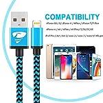Cavo-iPhone-Certificato-MFi-Rapida-iPhone-Caricabatterie-18M-3-Pezzi-Nylon-Intrecciato-Cavo-Lightning-Compatibile-per-iPhone-XR-XS-XS-Max-X-8-8-Plus-7-7-Plus-6s-6s-Plus-6-6-Plus-5s-5-SE-iPad