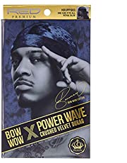 KISS RED Premium Bow Wow X Power Wave Crushed Velvet Durag