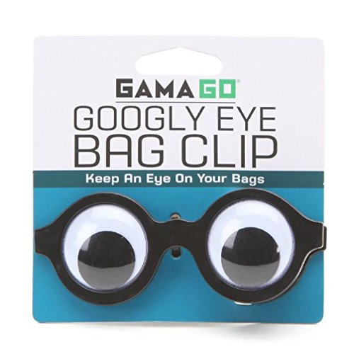 Gomangos Fashion Gama-Go Googly Eye Snack / Chip Bag Clip