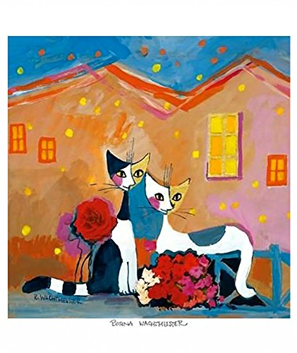 (Cat Poster for Kids Funny NIght Cityscape