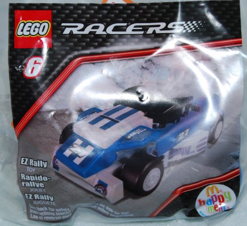 McDonalds Happy Meal 2009 Lego Racers - EZ Rally #6