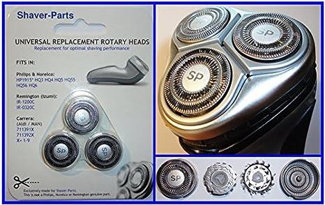 Cabezales de afeitado alternativos Modelo HP1915, HQ3 HQ4 HQ5 HQ55, cabezales de afeitado que se ajustan a las ...