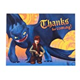 How to Train Your Dragon Thank You Cards (8ct)