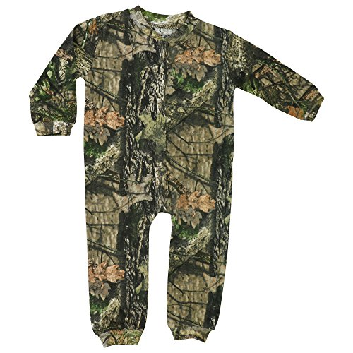 Mossy Oak Camo Baby Union Suit in Break-up