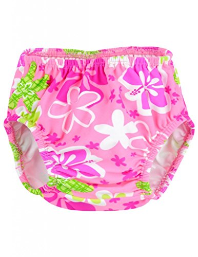 Tuga Girls Reusable Swim Diapers - Lavender, Small 14-SD02-S