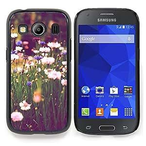 Stuss Case / Funda Carcasa protectora - El campo Margaritas verde Blooming Vignette - Samsung Galaxy Ace Style LTE/ G357