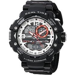 Wrist Armor Men's 'U.S. Navy' Quartz Black Casual Watch (Model: 37400018)