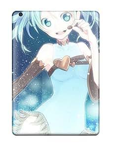 Premium Durable Blue Vocaloid Hatsune Miku Chocolatetwintails Anime Aqua Aqua Fashion Tpu Ipad Air Protective Case Cover