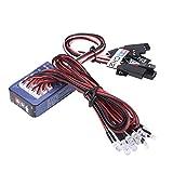 RC Lighting System 12 LED RC Car Lighting Kit for 1/10 1/8 RC Car Truck Crawler